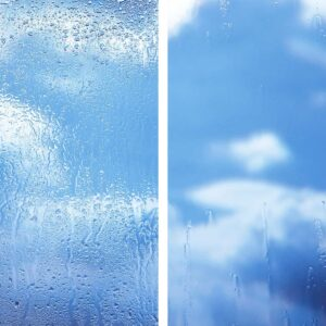 Set to make outdoor Windows self-cleaning-treatments and cleaning products – Nano protection
